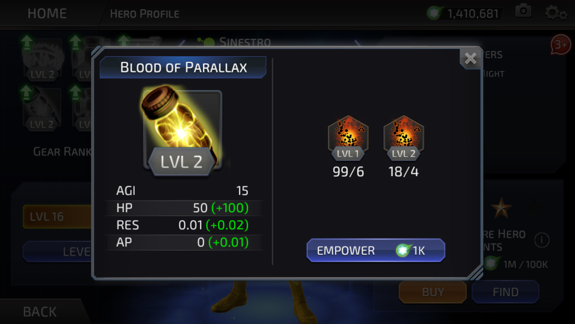 Parallax (DC Legends)