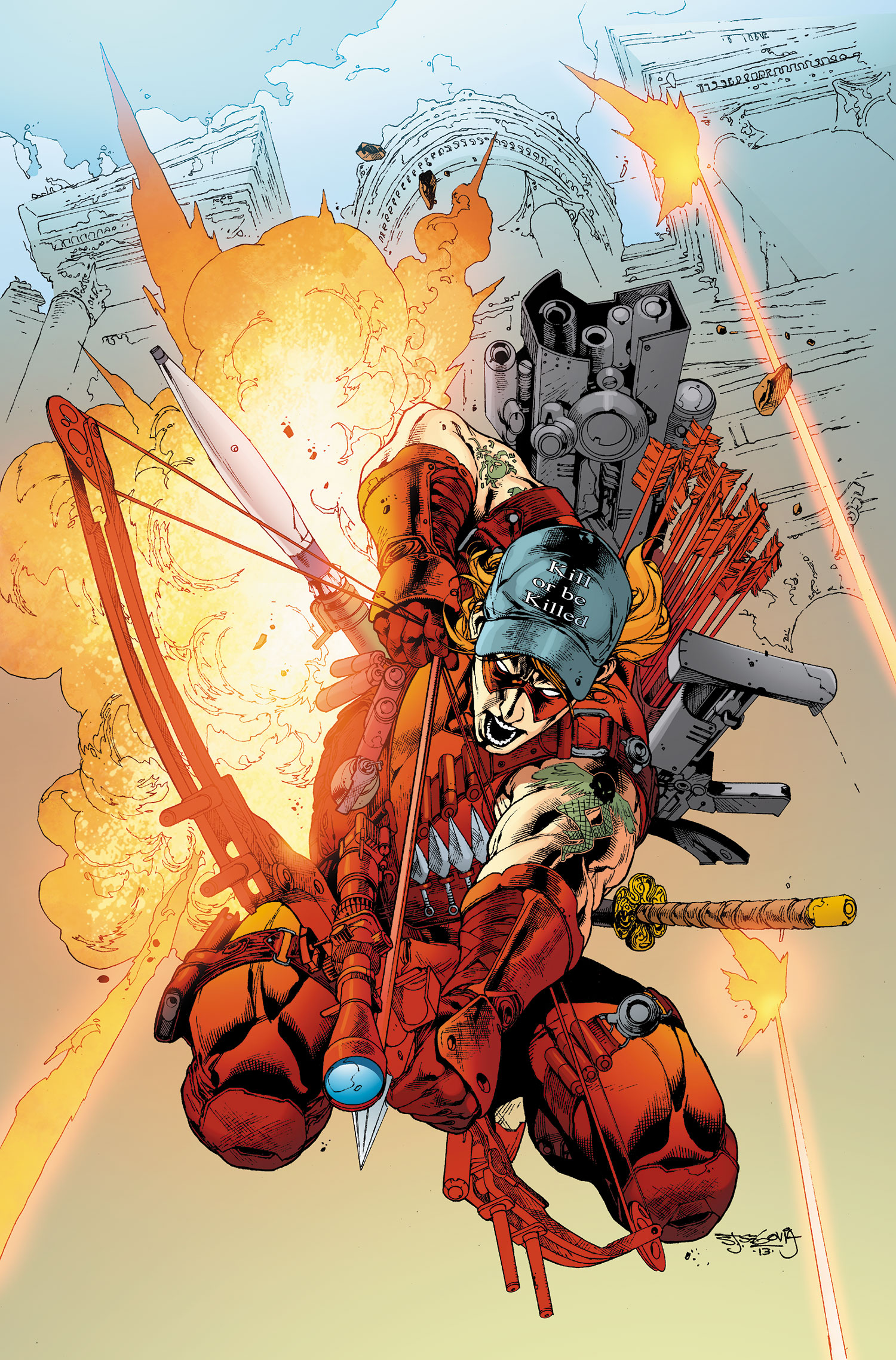 Red Hood and the Outlaws Vol 1 23 Textless.jpg
