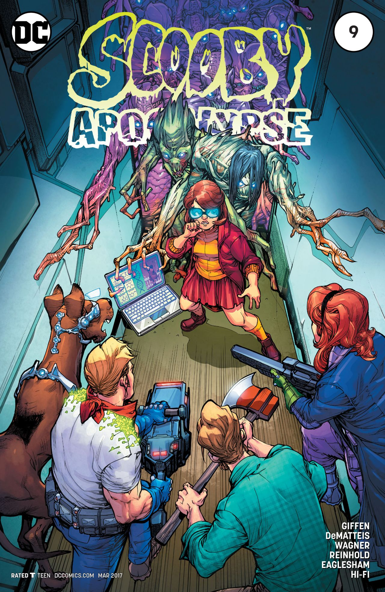 Scooby Apocalypse Vol 1 9