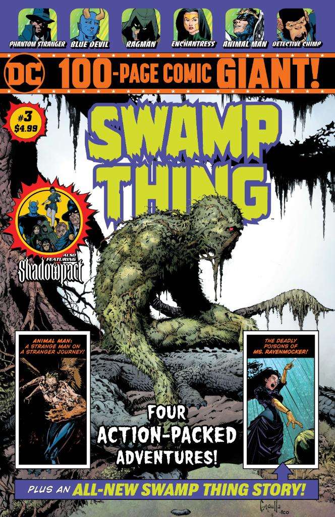Swamp Thing Giant Vol 1 3