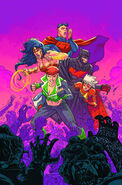 Justice League 3001 Vol 1 1 Textless Variant