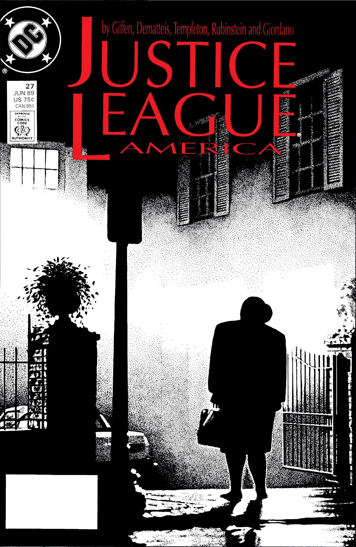 Justice League America Vol 1 27