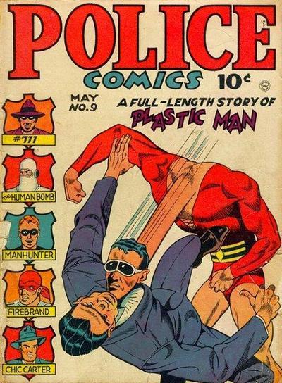 Police Comics Vol 1 9
