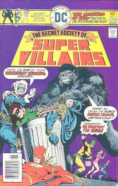 Secret Society of Super-Villains Vol 1 1