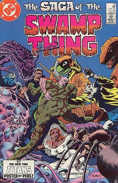 Swamp Thing Vol 2 22