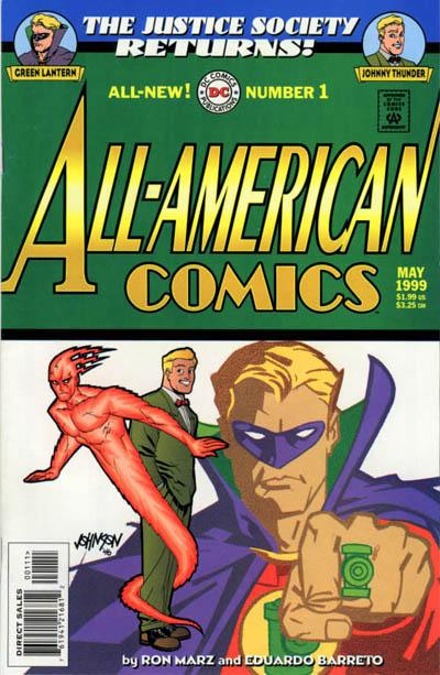 JSA Returns: All-American Comics Vol 1 1