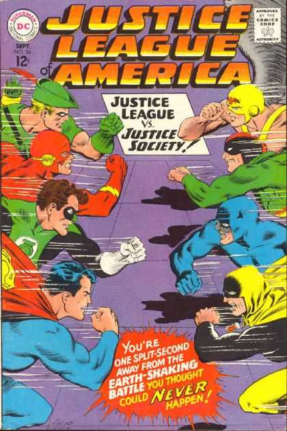 Justice League of America Vol 1 56