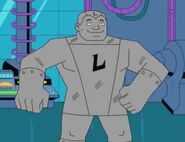 Lead (Metal Men Shorts)