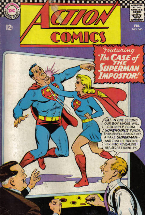 Action Comics Vol 1 346