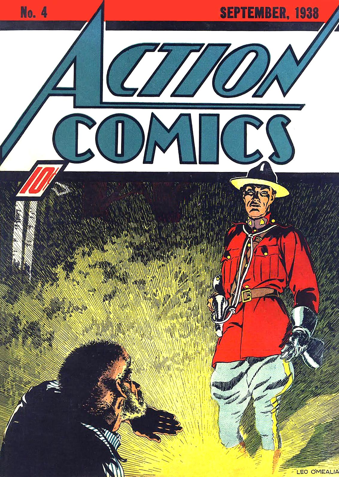 Action Comics Vol 1 4