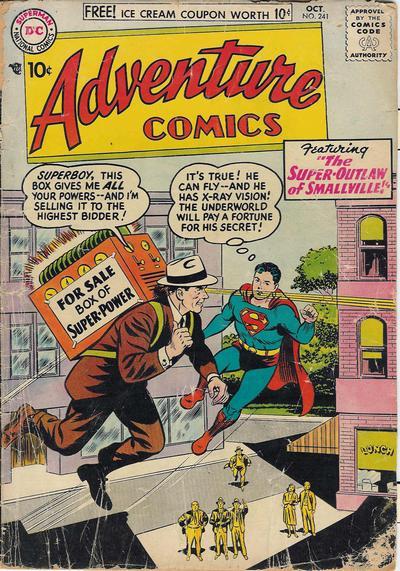Adventure Comics Vol 1 241