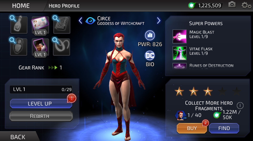 Circe (DC Legends)