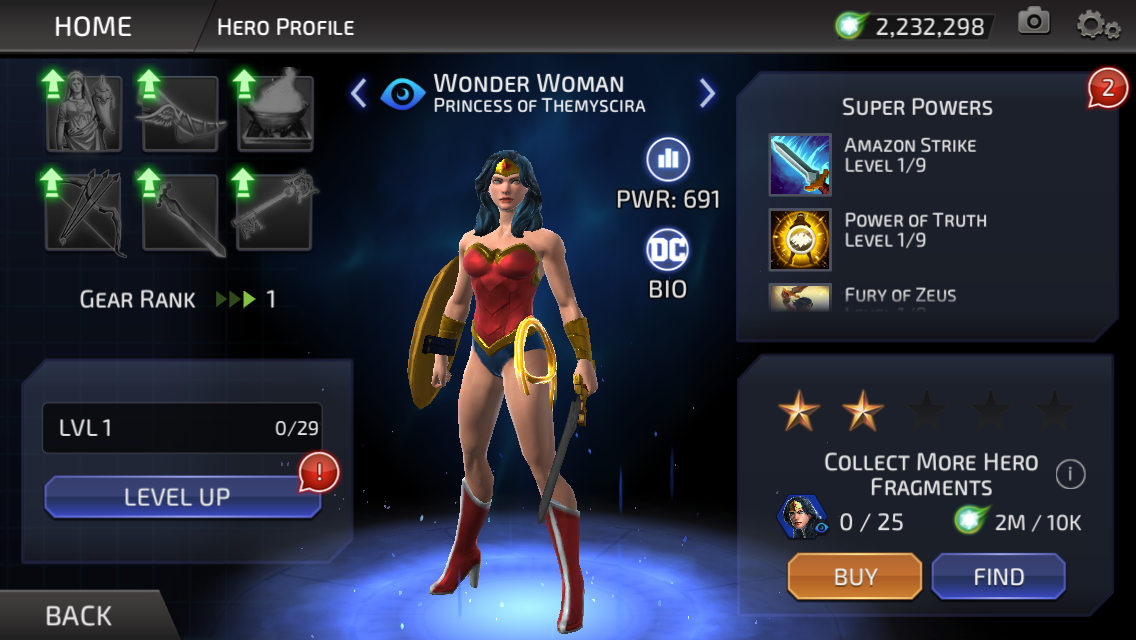 Diana of Themyscira (DC Legends)