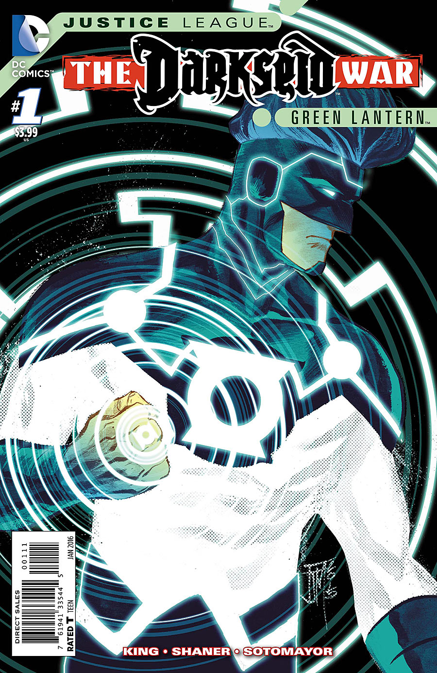 Justice League: The Darkseid War: Green Lantern Vol 1 1