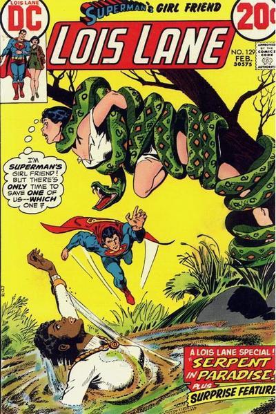 Superman's Girl Friend, Lois Lane Vol 1 129