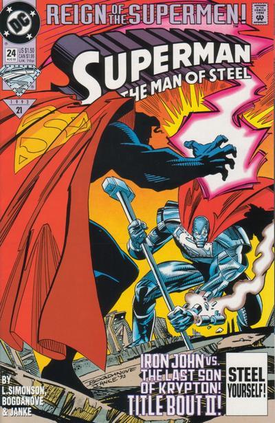 Superman: The Man of Steel Vol 1 24