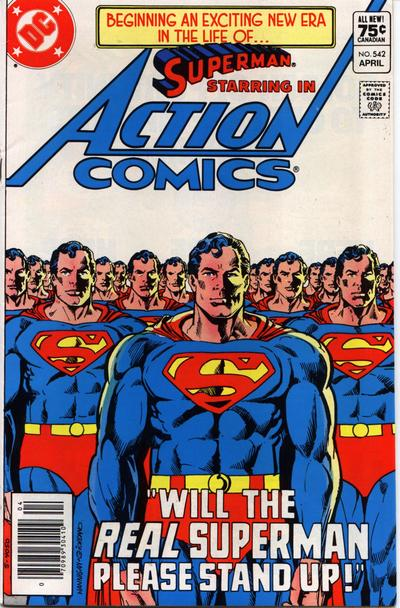 Action Comics Vol 1 542