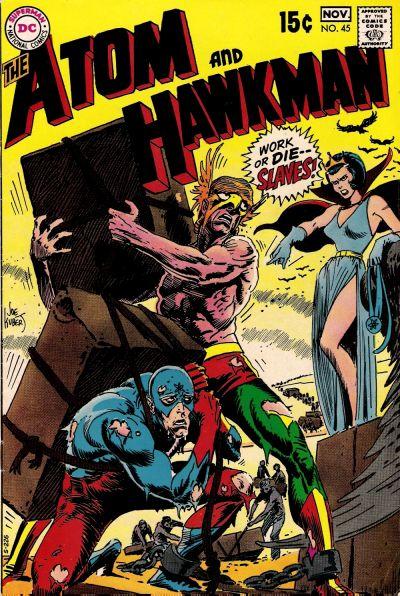The Atom and Hawkman Vol 1 45