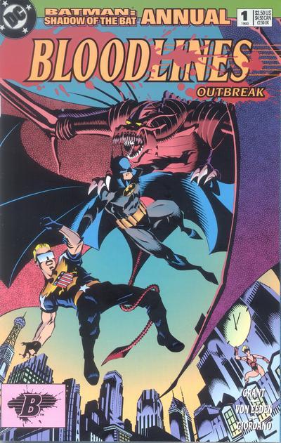 Batman: Shadow of the Bat Annual Vol 1 1