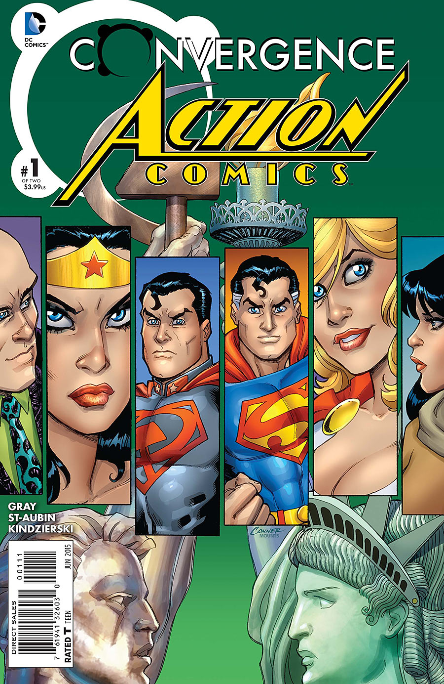 Convergence: Action Comics Vol 1 1