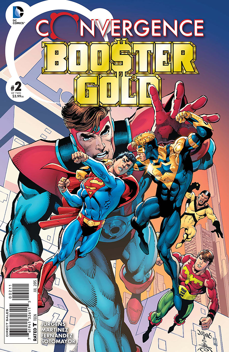 Convergence: Booster Gold Vol 1 2