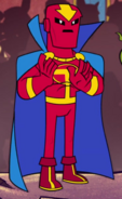 Red Tornado Teen Titans Go! TV Series 001