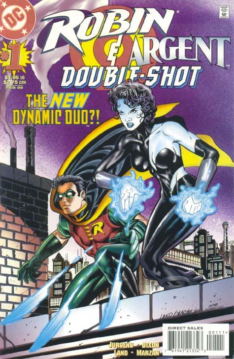 Robin/Argent: Double Shot Vol 1 1