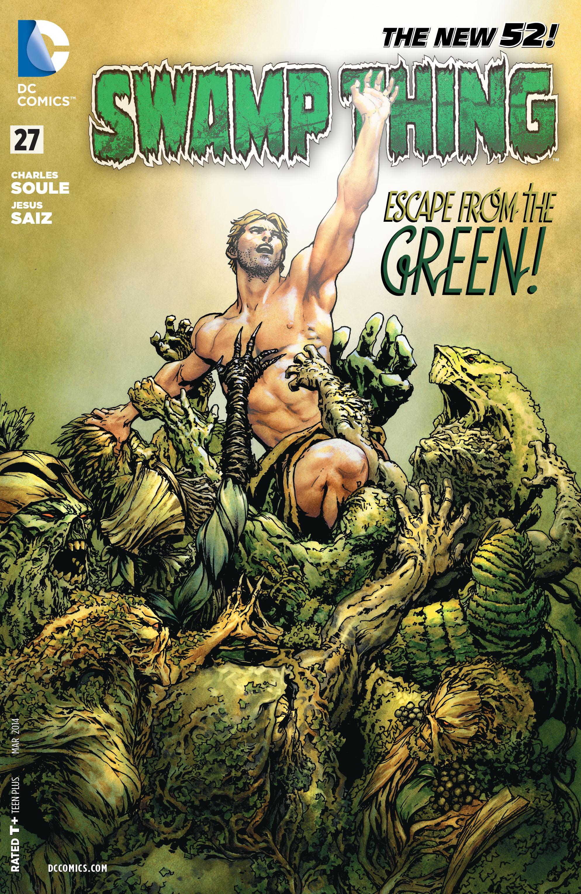 Swamp Thing Vol 5 27