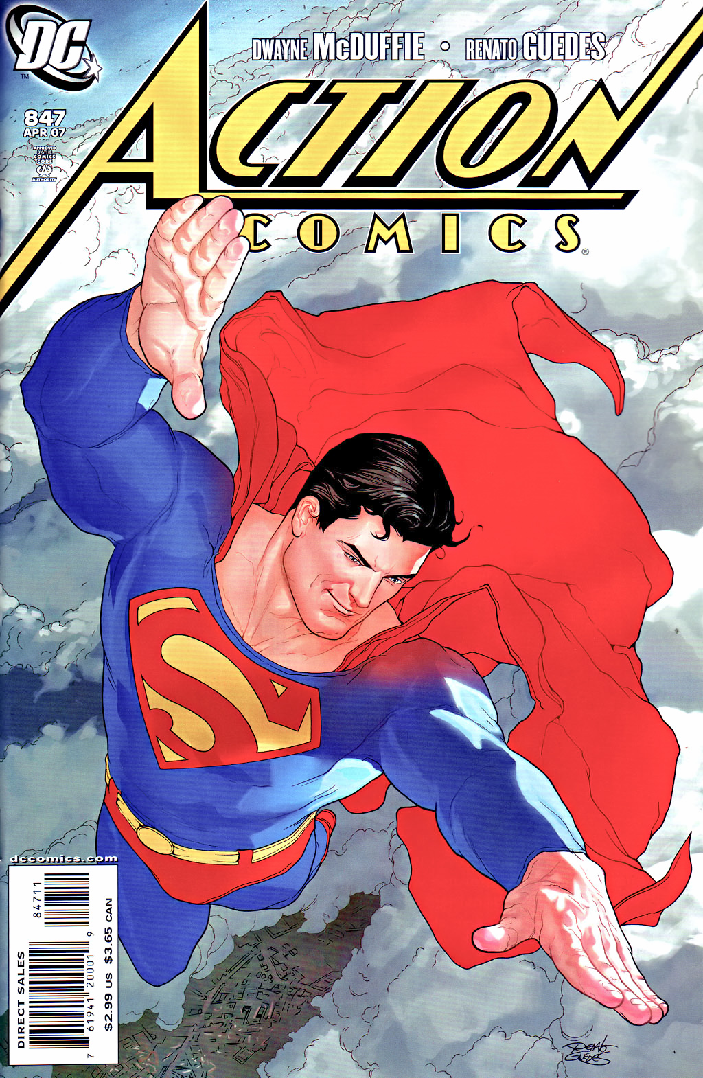 Action Comics Vol 1 847