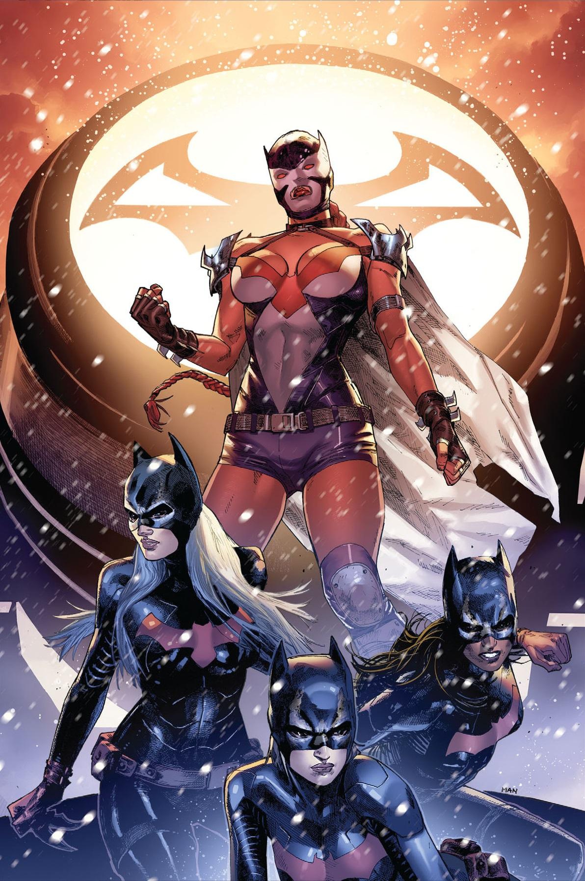League of Batgirls (Futures End)