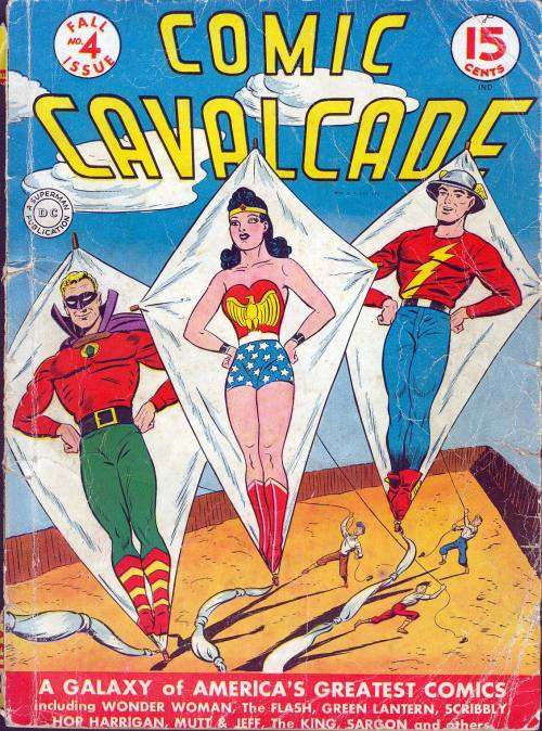 Comic Cavalcade Vol 1 4