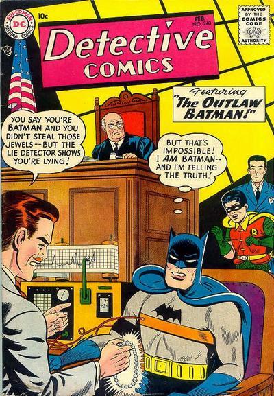 Detective Comics Vol 1 240