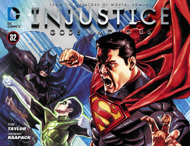 Injustice: Gods Among Us Vol 1 32 (Digital)