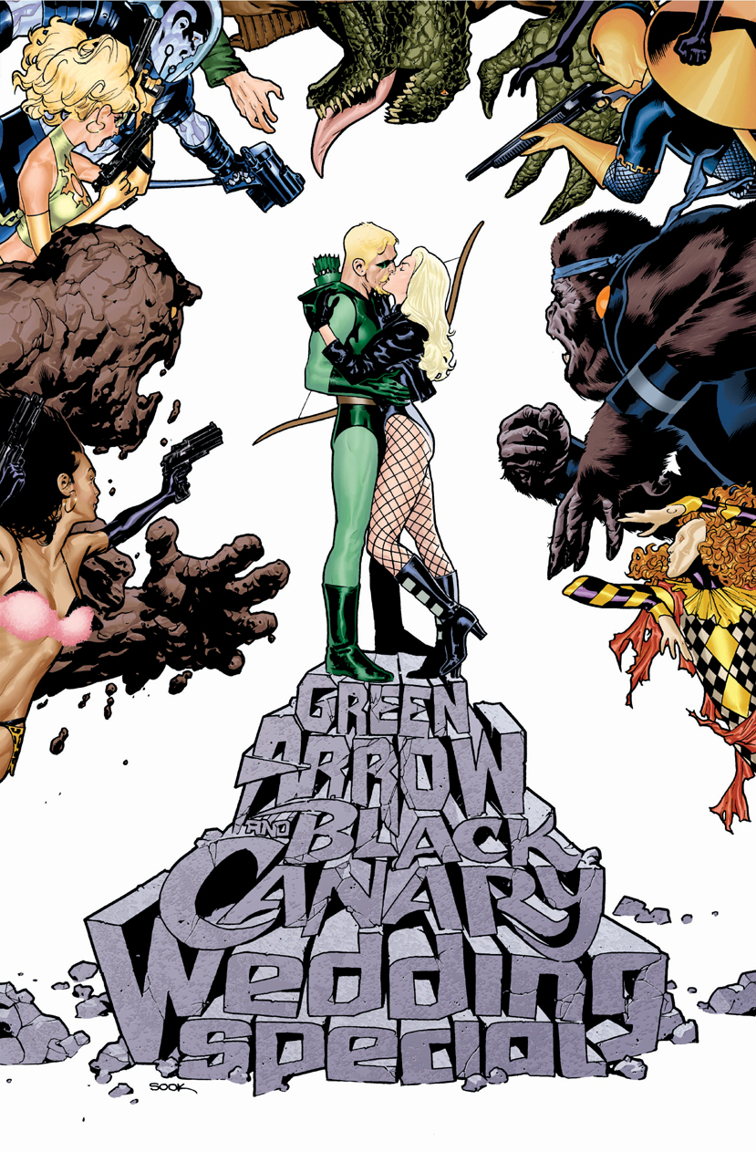 Green Arrow and Black Canary Wedding Special Textless Variant.jpg