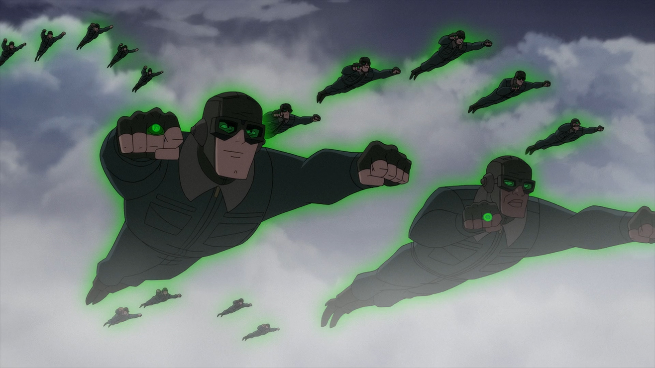 Green Lantern Corps (Superman: Red Son Movie)