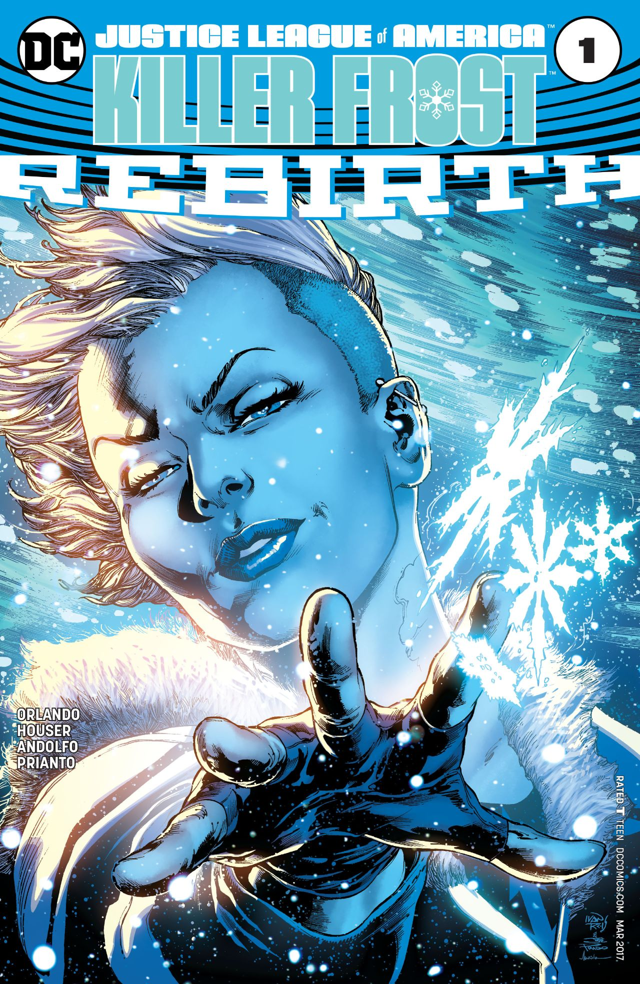 Justice League of America: Killer Frost Rebirth Vol 1 1
