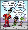 Negative Man Tiny Titans 001
