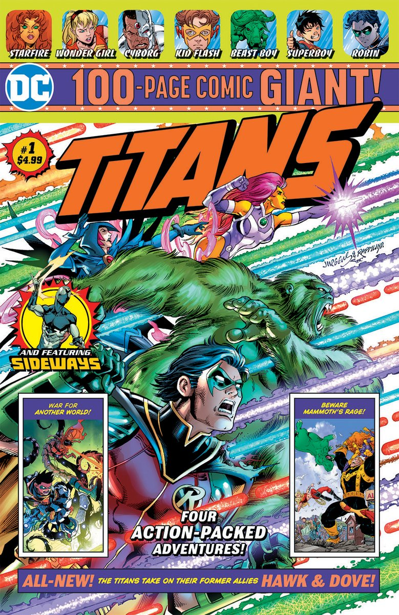 Titans Giant Vol 1 1