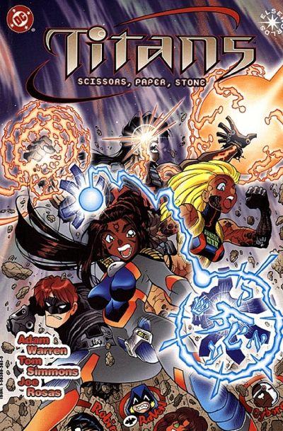 Titans: Scissors, Paper, Stone