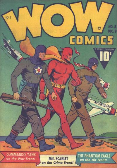 Wow Comics Vol 1 8