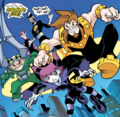 Fearsome Five Teen Titans 001