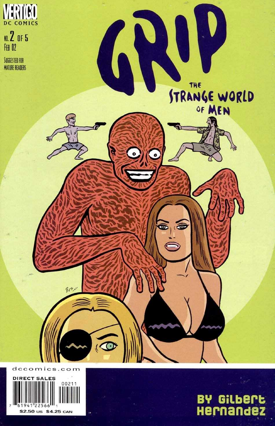 Grip: The Strange World of Men Vol 1 2