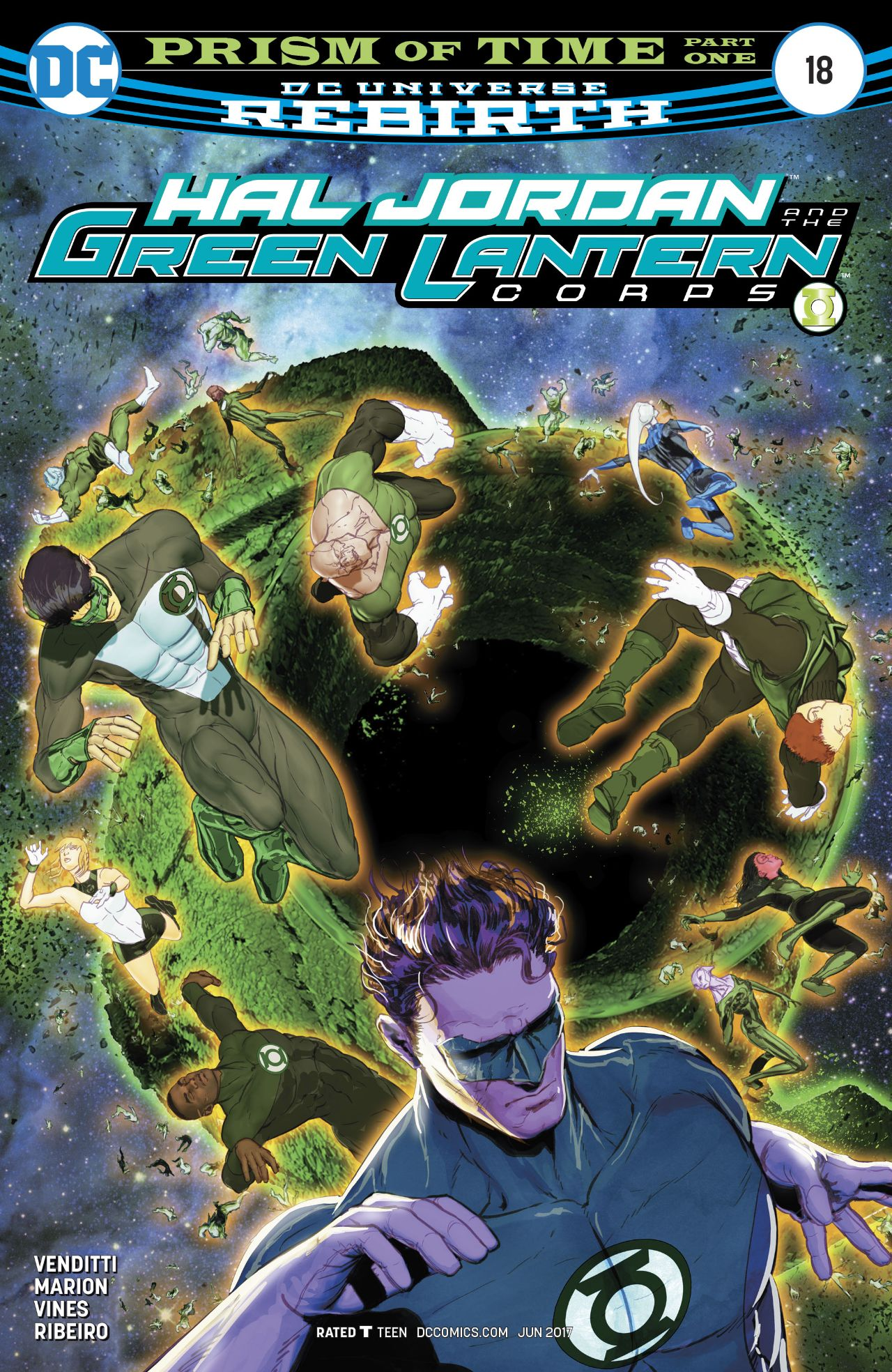 Hal Jordan and the Green Lantern Corps Vol 1 18