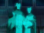 Jor-El and Lara Lor-Van DC Animated Movie Universe 0001