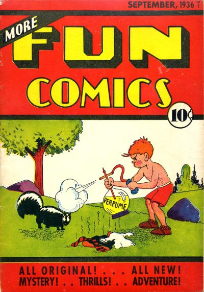 More Fun Comics Vol 1 13