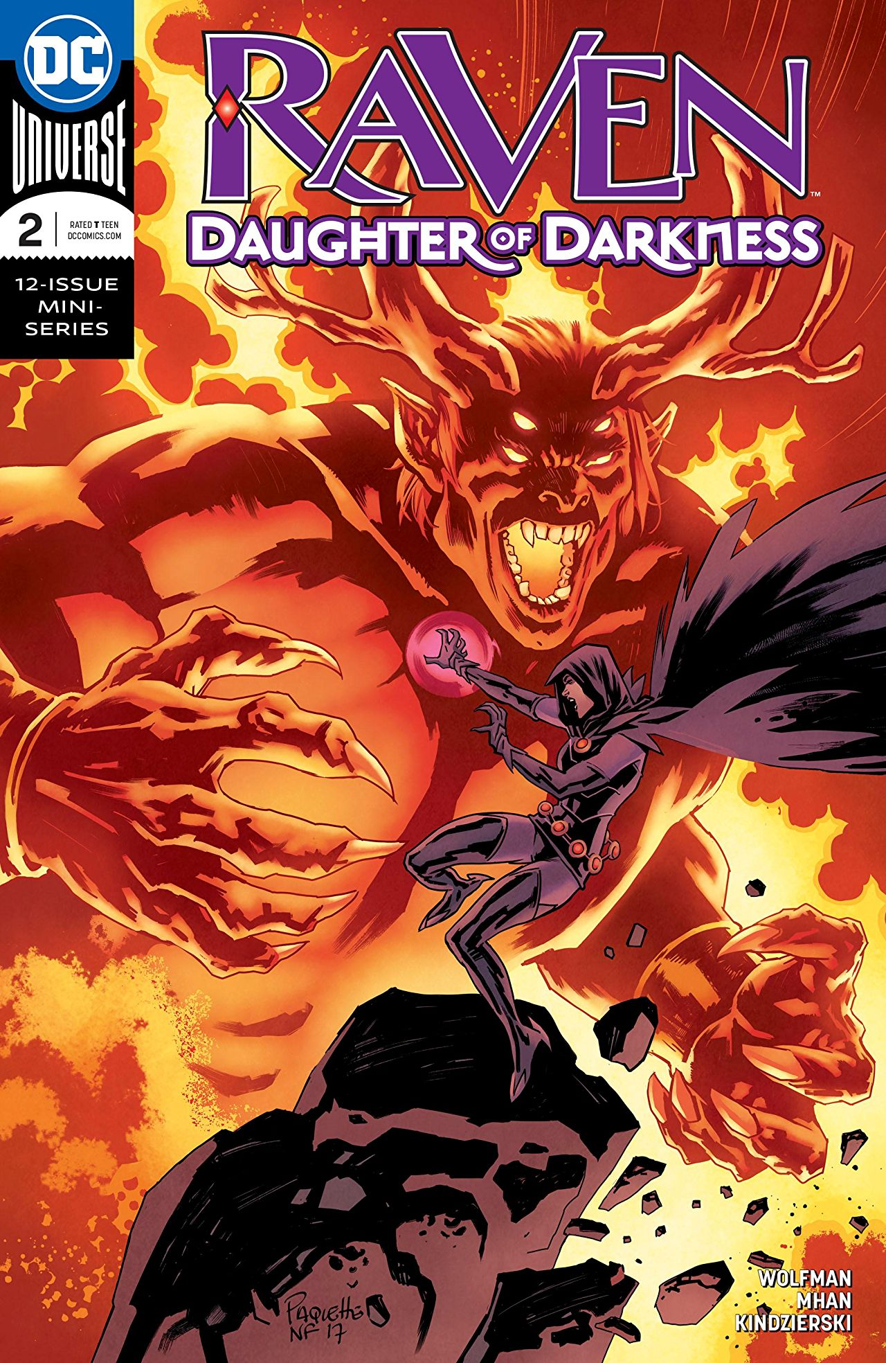 Raven: Daughter of Darkness Vol 1 2