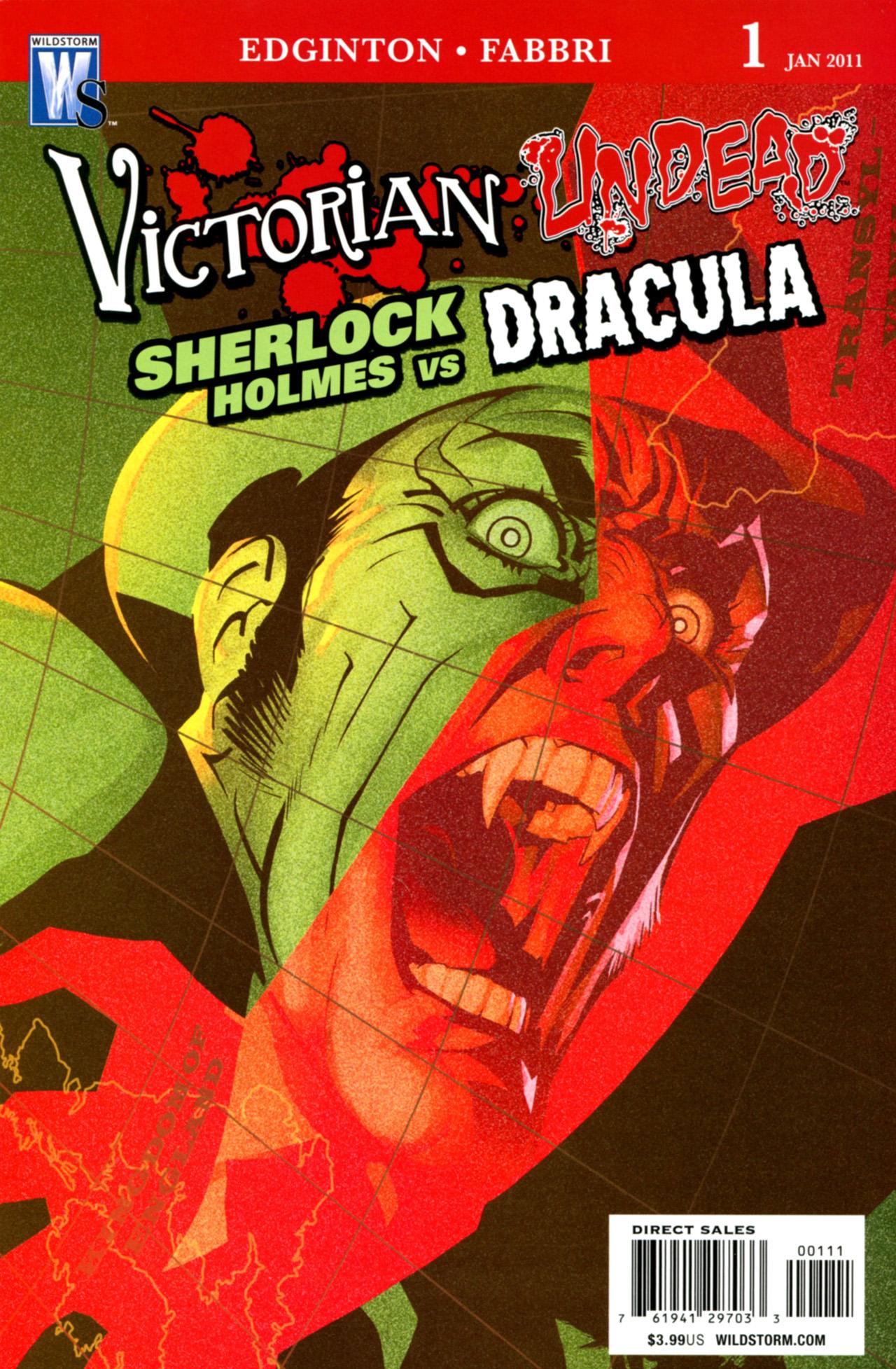Victorian Undead: Sherlock Holmes vs. Dracula Vol 1 1