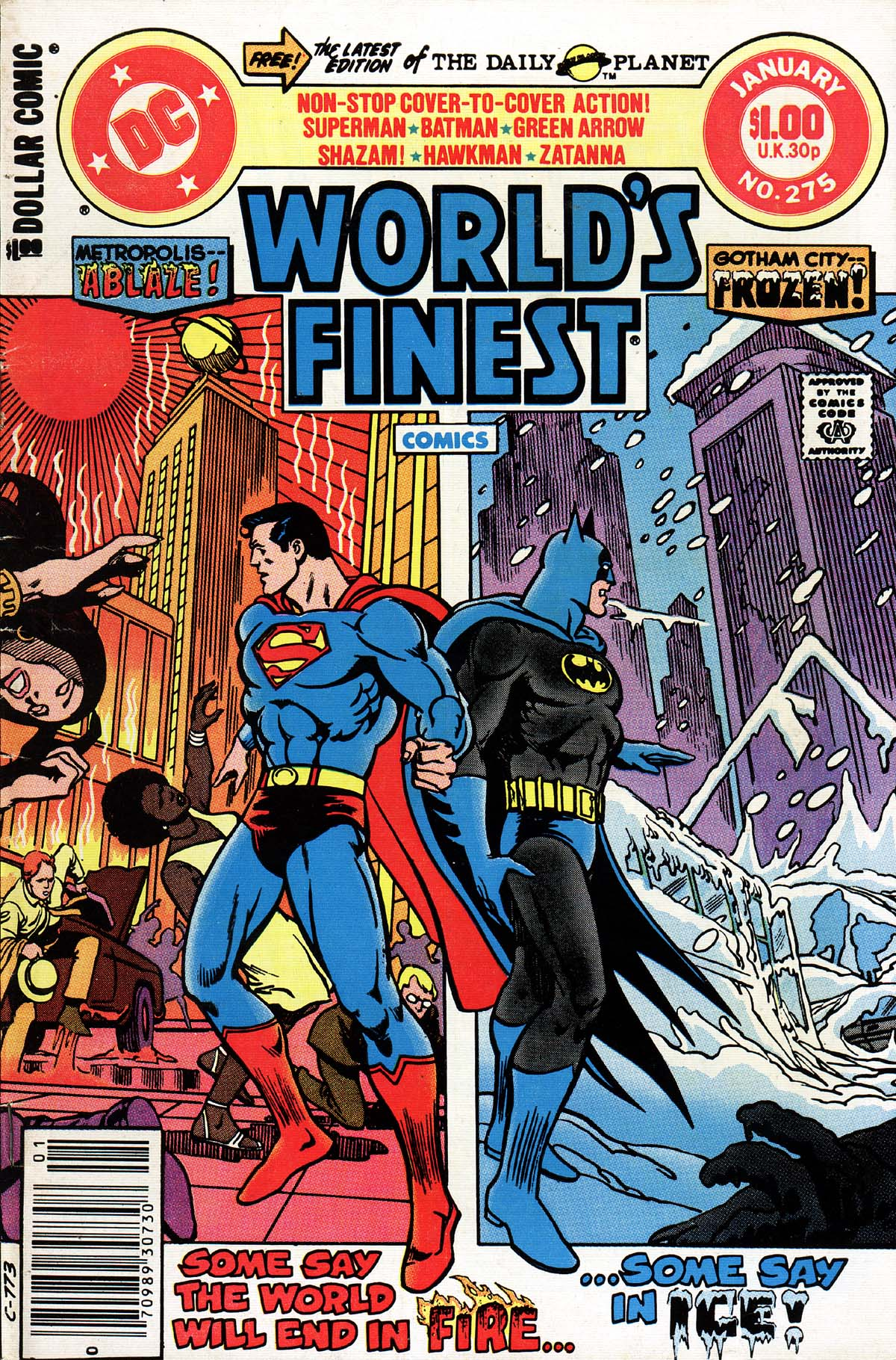 World's Finest Vol 1 275