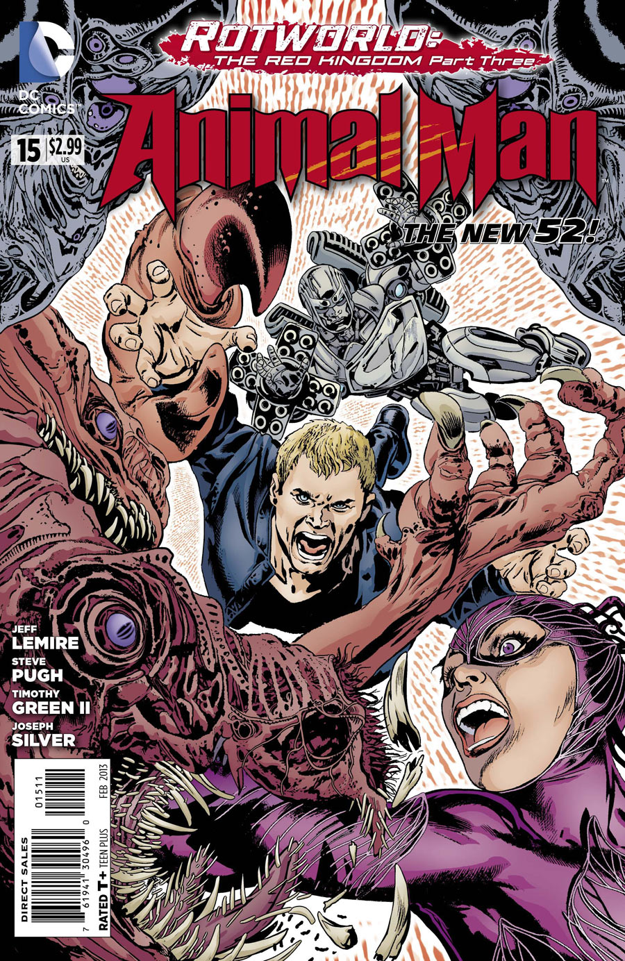 Animal Man Vol 2 15