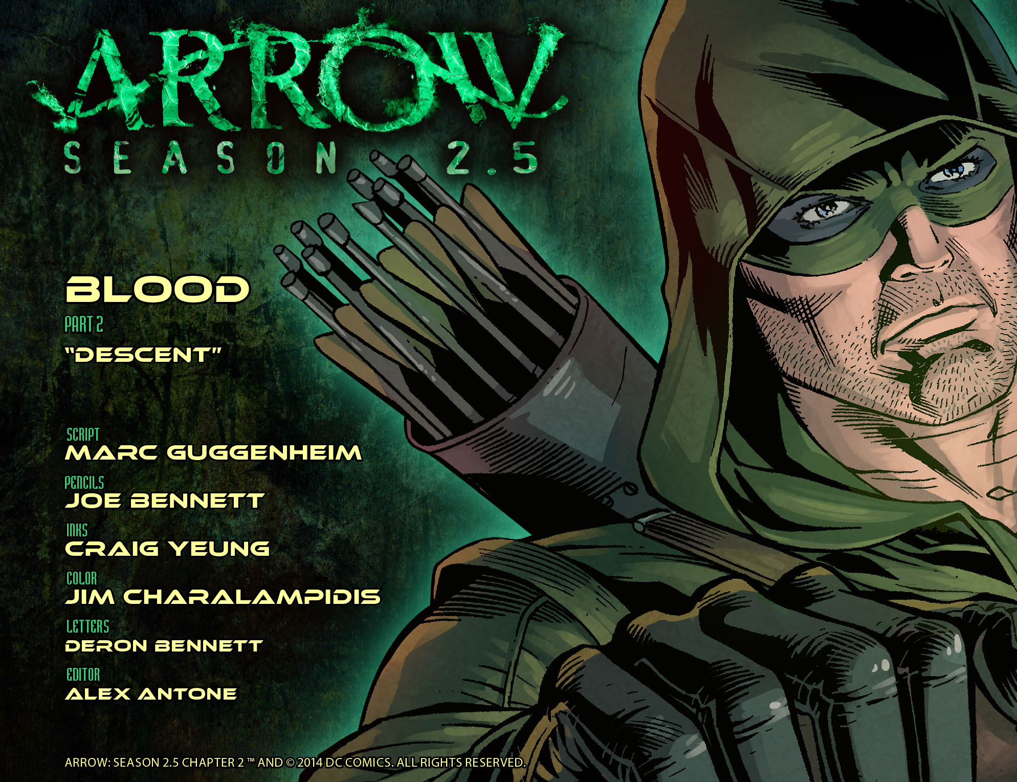Arrow: Season 2.5 Vol 1 2 (Digital)